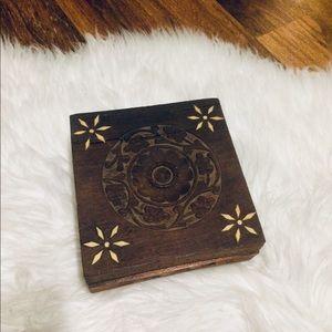🦋2/$10 3/$15 4/$18 5/$20 Vintage 60s Wood Box